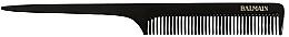 Profumi e cosmetici Pettine professionale, bianco e nero - Balmain Texture Comb Black And White