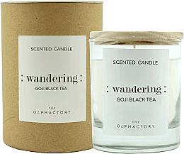 "Profumi e cosmetici Candela profumata ""Bacche di Goji"" - Ambientair The Olphactory Wandering Goji Black Tea"