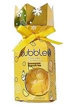 """Profumi e cosmetici Set """"Tè verde con citronella"""" - Bubble T Bath Fizzy Lemongrass Green Tea (bomb/100g+confetti/25g)"""