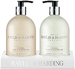 Profumi e cosmetici Set - Baylis & Harding Royal Bouquet Jojoba, Silk and Almond Oil (b/lot/500ml + soap/500ml)