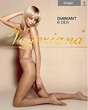"""Profumi e cosmetici Collant donna """"Diamant"""", 8 Den, grigio - Veneziana"""