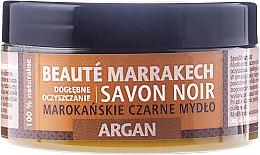 "Profumi e cosmetici Sapone nero naturale ""Argan"" - Beaute Marrakech Savon Noir Moroccan Black Soap Argan"
