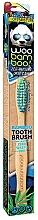 Profumi e cosmetici Spazzolino da denti morbido, blu + verde - Woobamboo Toothbrush Zero Waste Adult Bamboo Soft Bristle