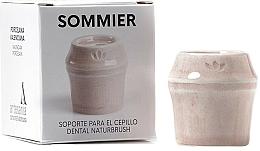 Profumi e cosmetici Portaspazzolino, rosa - NaturBrush Sommier Toothbrush Holder