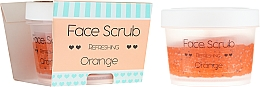 "Profumi e cosmetici Scrub viso e labbra ""Orange"" - Nacomi Refreshing Face Orange"