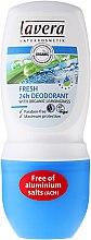 Profumi e cosmetici Deodorante roll-on - Lavera Fresh 24h Deodorant With Organic Lemobgrass