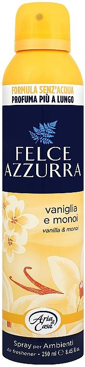Deodorante per ambienti - Felce Azzurra Vaniglia e Monoi Spray