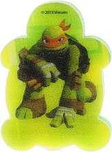 """Profumi e cosmetici Spugna da bagno per bambini """"Ninja Turtles"""", Michelangelo - Suavipiel Turtles Bath Sponge"""