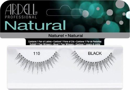 Ciglia finte - Ardell Natural Eye Lashes Black 110