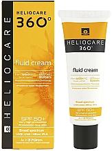 Profumi e cosmetici Fluido solare per tutti i tipi di pelle - Cantabria Labs Heliocare 360º Fluid Cream SPF 50+ Sunscreen