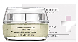 Profumi e cosmetici Maschera gel purificante e disintossicante all'argilla - Symbiosis London Purifying & Detoxifying Clay Mask-In-Gel