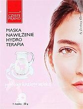 Profumi e cosmetici Maschera viso al latte di capra - Czyste Piekno Hydro Therapia Face Mask