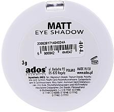 Ombretto opaco - Ados Matt Effect Eye Shadow — foto N20