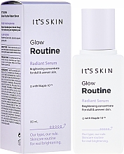 Profumi e cosmetici Siero illuminante viso - It's Skin Glow Routine Radiant Serum