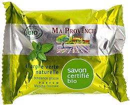 """Profumi e cosmetici Sapone organico all'aroma di menta """"Argilla verde"""" - Ma Provence Nature Soap"""