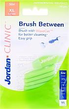 Profumi e cosmetici Spazzole interdentali, 0,8 mm, XL, 10 pz - Jordan Interdental Brush Clinic Brush Between
