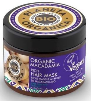 Maschera per capelli - Planeta Organica Organic Macadamia Rich Hair Mask