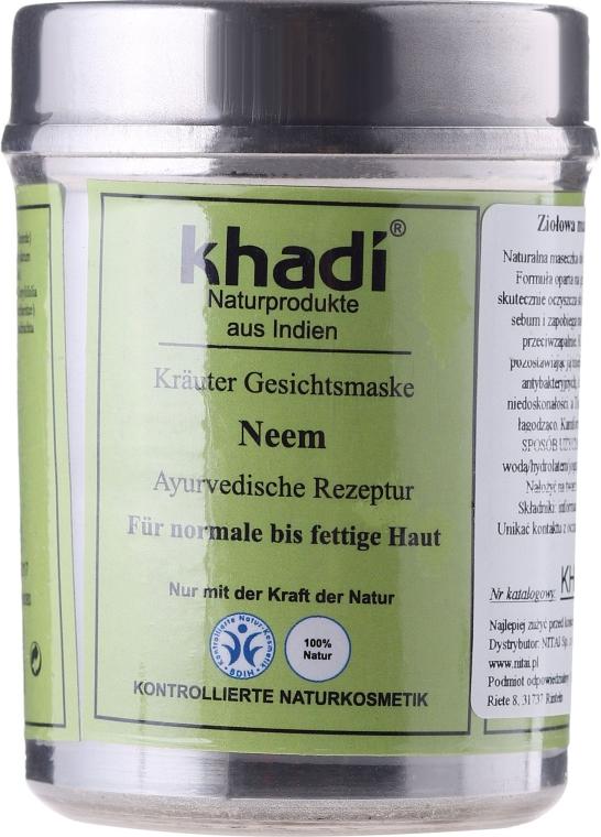 "Maschera alle erbe, per viso ""Neem"" - Khadi"