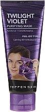Profumi e cosmetici Maschera idratante viso - Yeppen Skin Purifying Mask Twilight Violet Peel-off