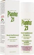 Profumi e cosmetici Shampoo nutritivo per capelli tinti e danneggiati - Plantur Nutri Coffein Shampoo