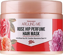 Profumi e cosmetici Maschera per capelli danneggiati - Welcos Around Me Rose Hip Perfume Hair Mask
