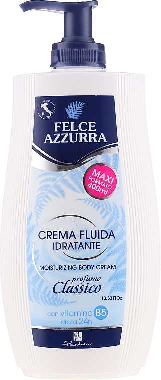 Crema fluida idratante - Felce Azzurra Classic Moisturizing Cream