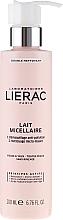 Profumi e cosmetici Latte micellare struccante - Lierac Double Nettoyant Lait Micellaire