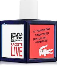 Profumi e cosmetici Lacoste Lacoste Live Collector`s Edition - Eau de toilette