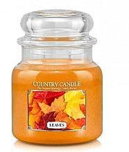 Profumi e cosmetici Candela profumata - Country Candle Leaves
