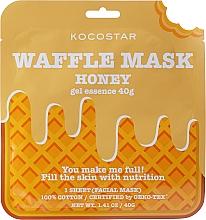 "Profumi e cosmetici Maschera nutriente ""Honey Pleasure"" - Kocostar Honey Waffle Mask"