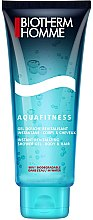Profumi e cosmetici Gel shampoo per il corpo e capelli - Biotherm Homme Aquafitness Shower Gel Body & Hair