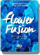 Profumi e cosmetici Maschera lenitiva in tessuto alla lavanda - Origins Flower Fusion Lavender Soothing Sheet Mask