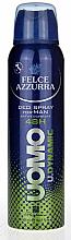 Profumi e cosmetici Deodorante antitraspirante - Felce Azzurra Deo Uomo Dynamic