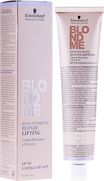 Crema schiarente capelli biondi - Schwarzkopf Professional BlondMe Blonde Lifting