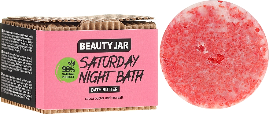 Olio da bagno - Beauty Jar Saturday Night Bath Bath Butter