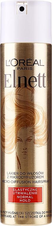 """Lacca per capelli """"Fissaggio flessibile"""" - L'Oreal Paris Elnett De Luxe Hairspray Flexible Consolidation"""