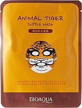 """Profumi e cosmetici Maschera in tessuto per viso a forma di animale """"Tigre"""" - Bioaqua Animal Tiger Supple Mask"""