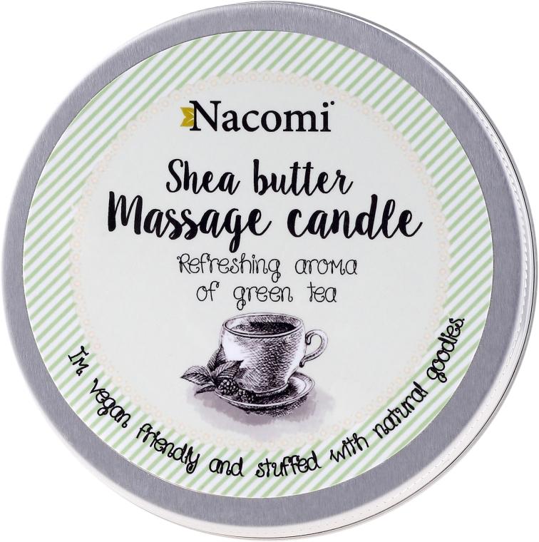 Candela da massaggio con burro di karité e tè verde - Nacomi Shea Butter Massage Candle — foto N1