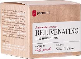 Profumi e cosmetici Crema viso per pelle secca e sensibile - Phenome Sustainable Science Rejuvenating Line Minimizer