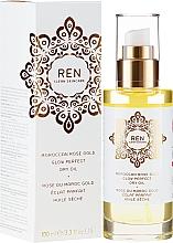 Profumi e cosmetici Olio secco corpo e capelli - Ren Moroccan Rose Gold Glow Perfect Dry Oil