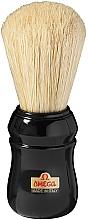 Profumi e cosmetici Pennello da barba, 10049, nero - Omega