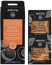 Profumi e cosmetici Scrub viso all'albicocca - Apivita Express Beauty Face Scrub Apricot
