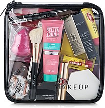 "Profumi e cosmetici Beauty case trasparente ""Visible Bag"" (senza cosmetici) 20x20x8cm - MakeUp"