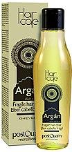 Profumi e cosmetici Elisir per capelli fini all'olio di argan - PostQuam Argan Fragile Hair Elixir