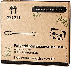 Profumi e cosmetici Cotton fioc di bambù - Zuzii Bamboo Cotton Buds