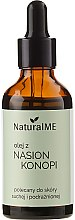 Profumi e cosmetici Olio di semi di canapa - NaturalME