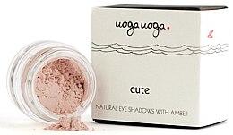 Profumi e cosmetici Ombretto naturale con ambra - Uoga Uoga Natural Eye Shadow With Amber