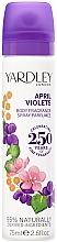 Profumi e cosmetici Yardley April Violets - Deodorante spray