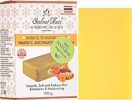 Profumi e cosmetici Sapone con estratto di curcuma - Sabai Thai Herbal Turmeric Soap