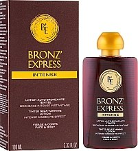 Profumi e cosmetici Lozione abbronzante intensiva per viso e corpo - Academie Bronz'Express Intense Lotion